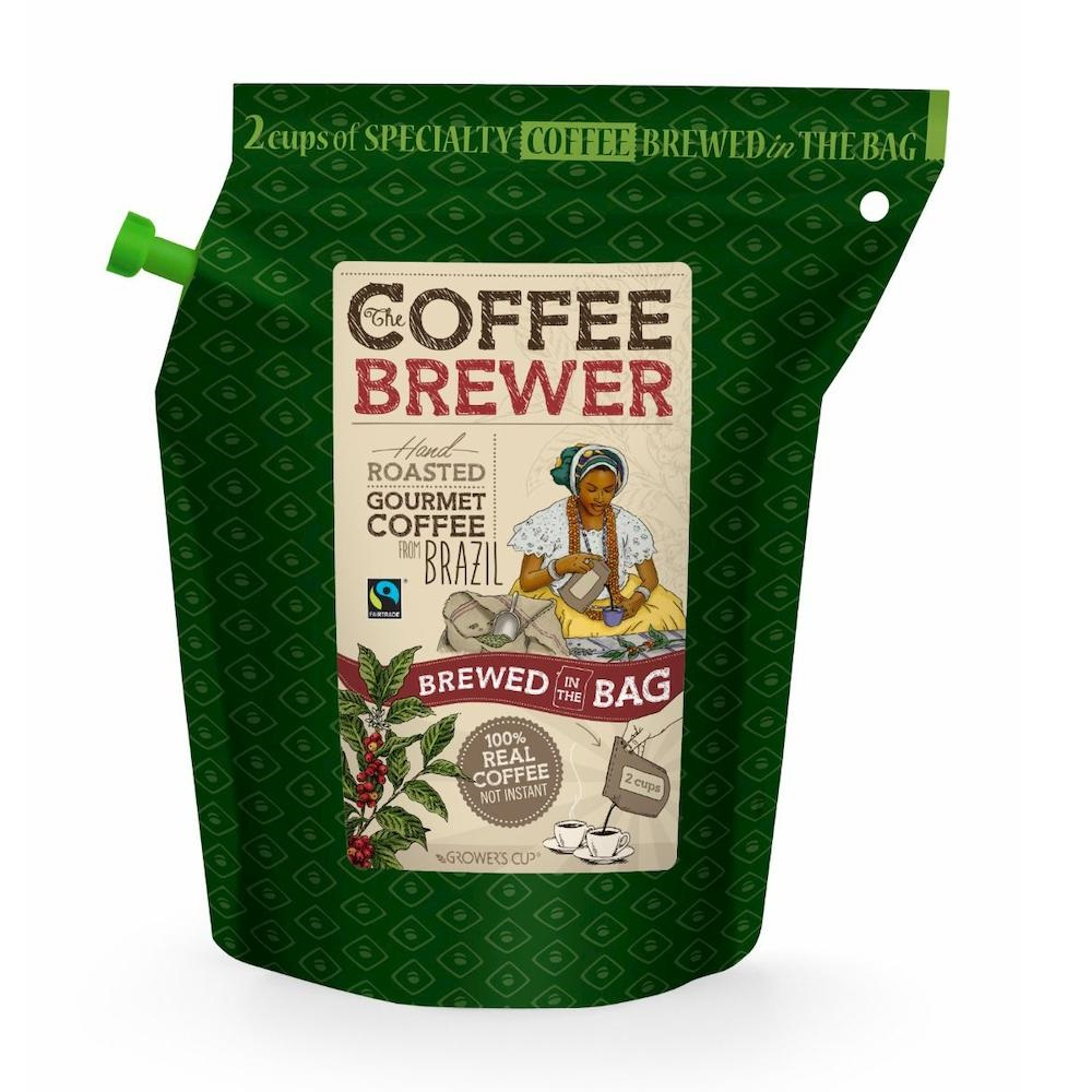 The Coffeebrewer - Grower's Cup - Kaffeebeutel Brew Bag
